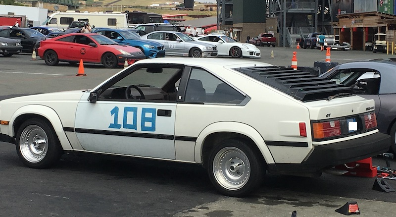 80s? Celica with us in Group 1.<br>  Group 3 is in grid behind.